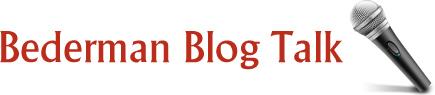 Bederman Blog Talk